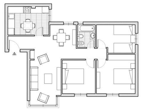 pianta di appartamento piantina appartamento con misure decora la tua vita