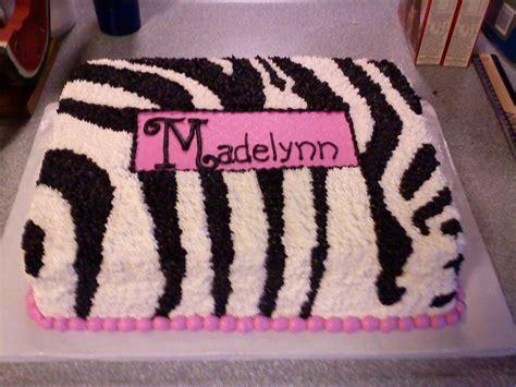 zebra baby shower cakes zebra print baby shower cake cakecentral