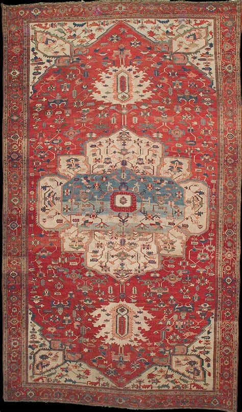 Pap Rugs by Antique Serapi Rug Azerbaijan West Iran