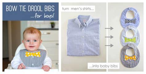 diy baby bow tie no diy baby bow tie drool bib from a shirt