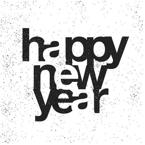 new year images black and white black and white new year background vector premium