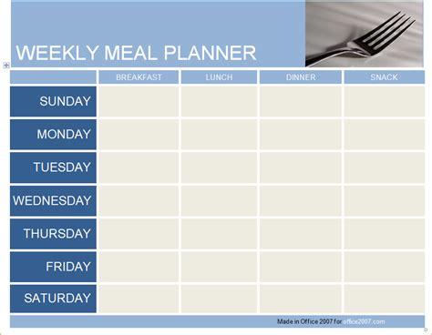 meal planner excel monthly discopolis club