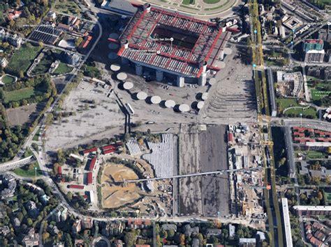 stadio san siro ingresso 7 zona san siro dopo 30 anni la svolta dove sorgeva il