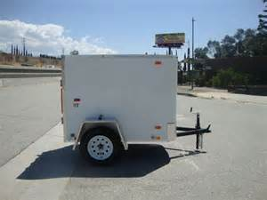 Look trailers stlc4x6si2 small economy friendly cargo trailer for sale