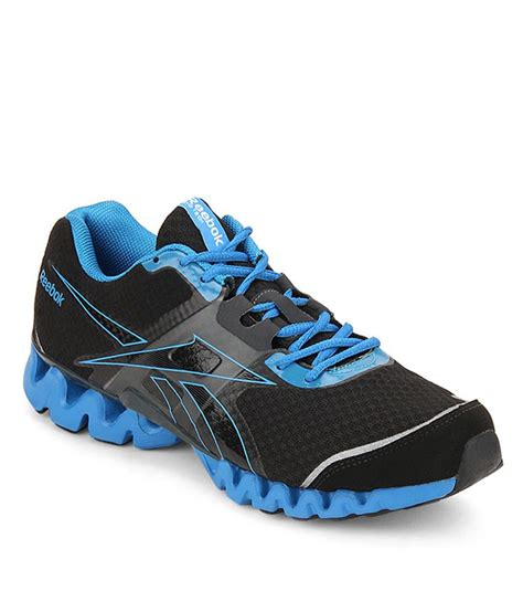 reebok black mens zigtech 3 0 running shoes available at