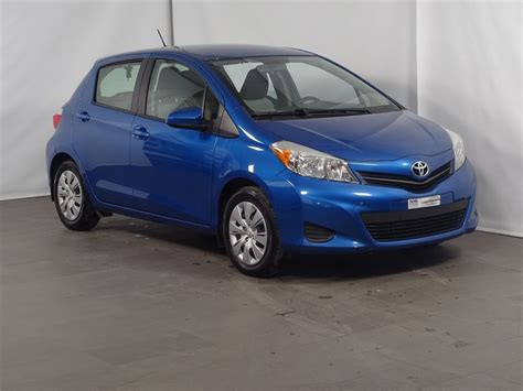 Used Yaris Toyota Used 2012 Toyota Yaris Le M5 At Subaru Sainte Julie 9 495