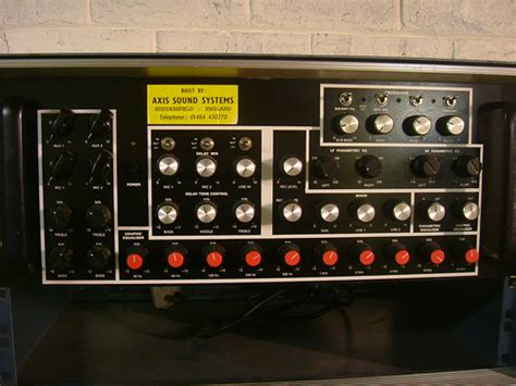 Pre Tone Stereo axis 3 way stereo pre axis sound system flickr