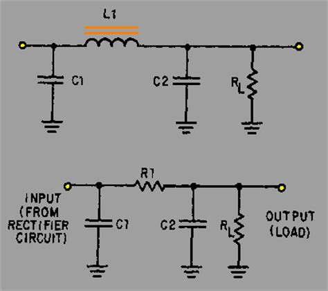 resistor capacitor pi filter resistor capacitor pi filter 28 images filter capacitor schematic 28 images why use a