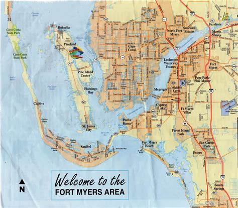 map of cape coral fl planetppg fly in 2015