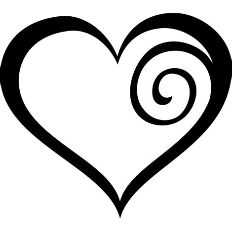 imagenes blanco y negro corazones este bonito coraz 243 n adhesivo guarda dentro una espiral