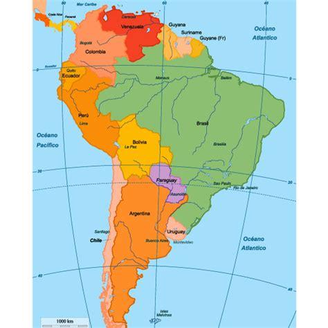 imagenes de mapa sudamerica mapa pol 237 tico de sudam 233 rica editable vector vector clipart