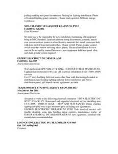 Boom Operator Sle Resume resume nov 2012 updated