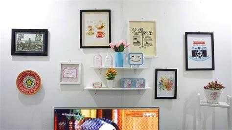 Dekorasi Dinding hiasan dinding ruang tamu minimalis desainrumahid