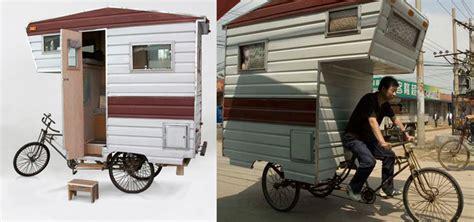 mobile wohnhäuser kaufen fahrrad wohnwagen fahrrad wohnwagen the caravan