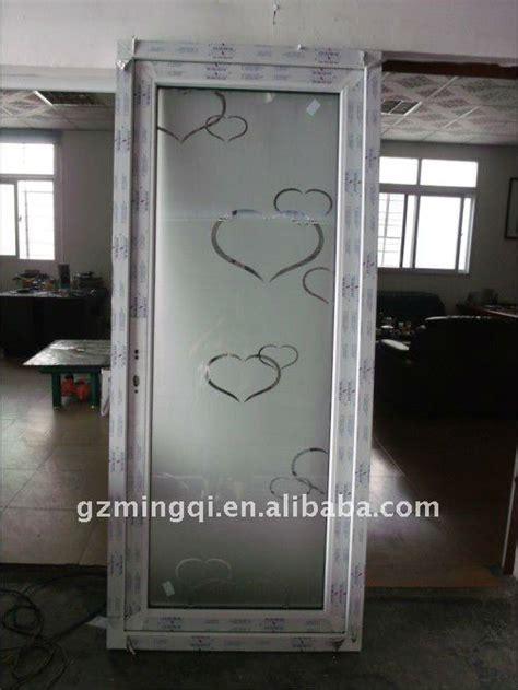 Charmant Porte Interieur Salle De Bain #4: PVC_interior_glass_bathroom_door.jpg