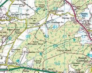 c wood map domesday reloaded blean woods n c c