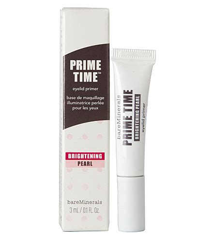 Coming Soon Prime Time Primer From Bare Escentuals by Bare Minerals Prime Time Brightening Eyelid Primer