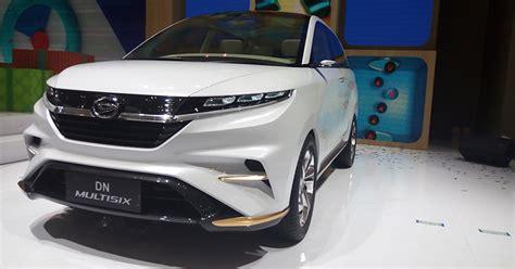 Shockbreaker Depan Mobil Xenia mobil konsep daihatsu dn multisix inikah bentuk xenia di