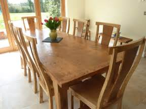 Large Kitchen Tables And Chairs Quercus Furniture Bespoke Handmade Table Oak Refectory Table
