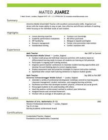 substitute teacher resume resume templates teacher resum