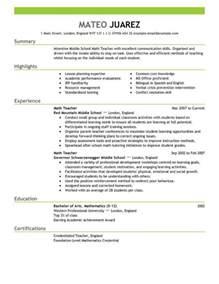 substitute resume resume templates resum