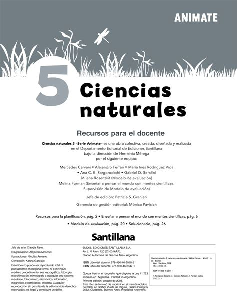 libro de ciencias naturales 5 animate ciencias naturales 5 by marcela lalia issuu