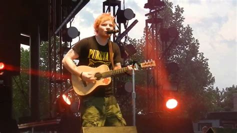 ed sheeran baby one more time baby one more time ed sheeran indianapolis youtube
