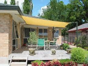 Sun Shades For Patios Sails by Cover Your Outdoor Space With Shade Sails The Garden Glove