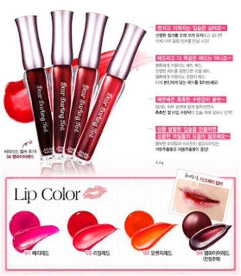 Harga Etude House Tony Moly Lip Tint korean doll tutorial etude house tint and tony