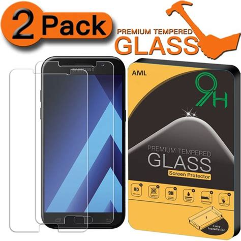 Samsung Galaxy A5 2015 Tyrex Tempered Glass Screen Protector bol 2 stuks pack screen protector anti barst