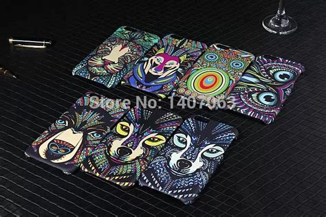 Luxo Glowing Hardcase Owl Series For Iphone 6 6s buy amazing jungle animal tiger owl wolf monkey luminous matte slim phone cases cover