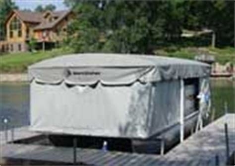 boat canopy skirts 1000 images about boat lifts docks bulkheads on