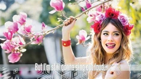 song martina in my own world martina stoessel lyric letras