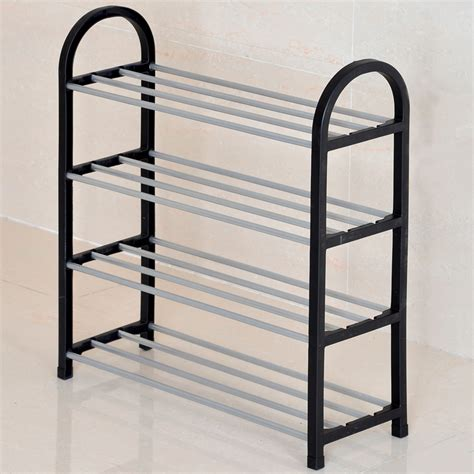 Pipe Shoe Rack by Plastic Steel Pipe Reinforced Multilayer Simple Shoe