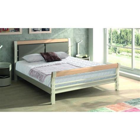 lit blanc 160x200 lit pas cher 160x200 maison design wiblia