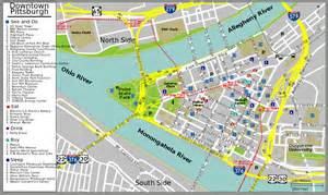 Pittsburgh Map Usa by File Pittsburgh Downtown Map Svg Wikimedia Commons