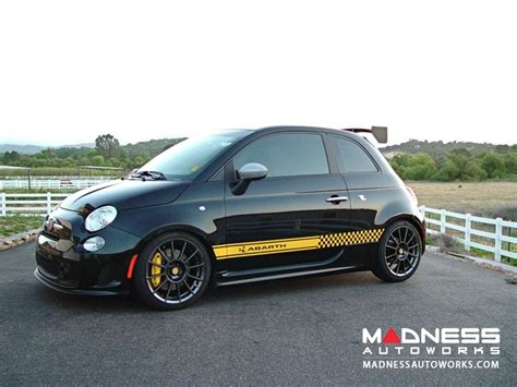 yellow side abarth yellow side decal fiat 500 parts and accessories