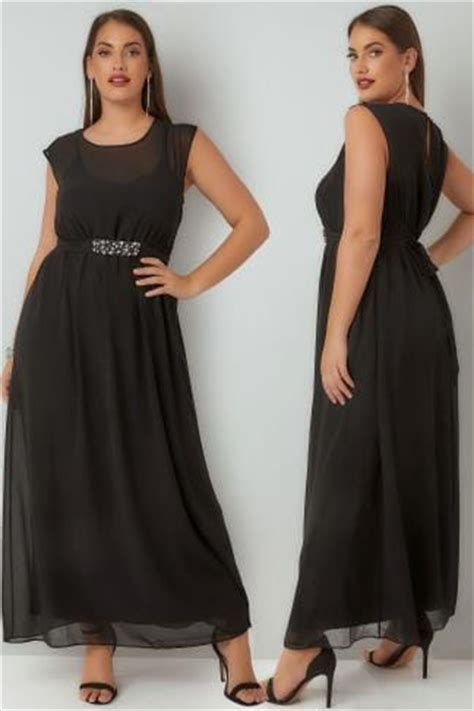 Dialogue Baby Giftset Owl Series 03 Dlb2364 black cap sleeved maxi dress with elasticated waist plus size 16 to 36