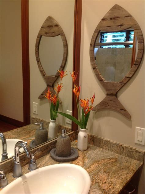 tropical mirrors bathroom stone soap dishes with unique mirror powder room tropical and