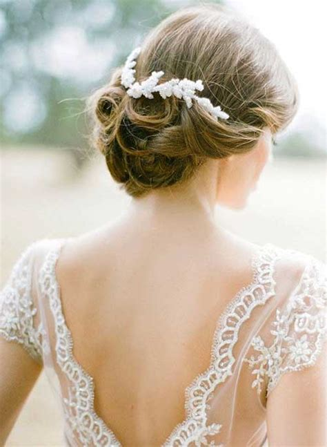 Wedding Hairstyles With Headpiece by 25 Simple Bridal Hairstyles