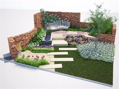 Yorkshire Roof Garden   Harrogate Spring Flower Show 2015 Paxman Landscapes