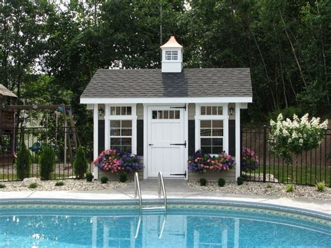 Pool Shed | pool shed for the home pinterest