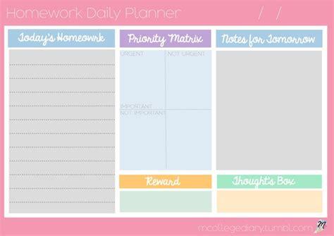 printable studyblr the 25 best homework planner printable ideas on pinterest