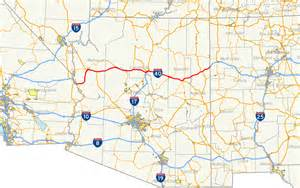 arizona map i 40