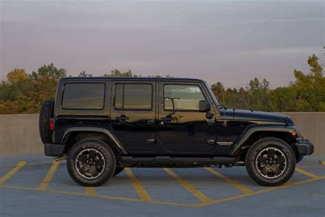 Jeep Wrangler Unlimited Altitude Edition Winding Road 2012 Jeep Wrangler Unlimited Altitude
