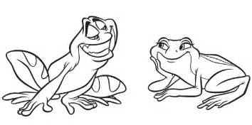 disney princess frog coloring pages az coloring pages