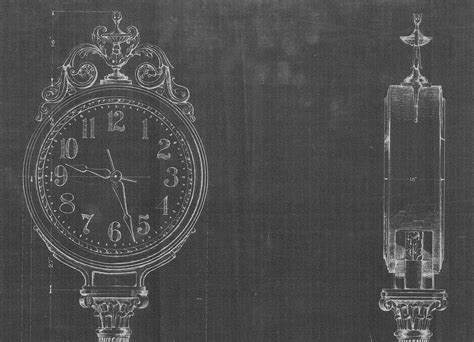 blueprint seattle blueprints of seattle s clocks ba kground