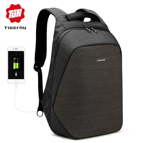 Backpack Anti Maling tigernu tas ransel backpack anti maling dengan usb port