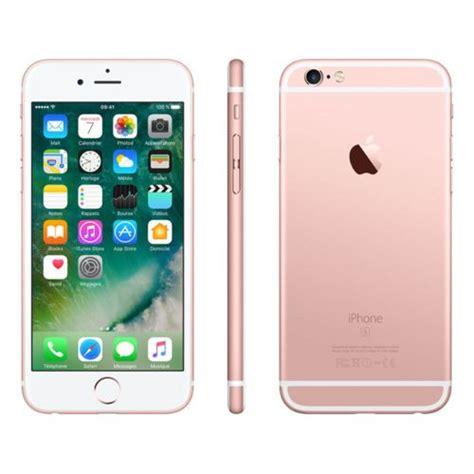 apple iphone 6s 16 go or pas cher achat vente smartphone classique ios rueducommerce