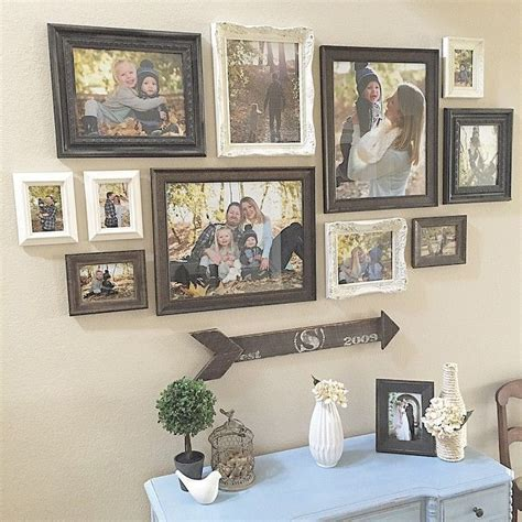 hanging picture ideas best 25 photo walls ideas on pinterest photo wall